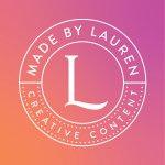 Made by Lauren - creative content