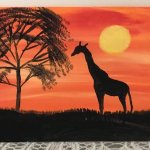 African Sunset Painting Workshop