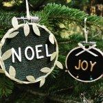 Art Social - Mini Letterboard Ornaments