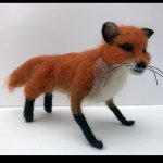 Autumn Fox Needle Felting Workshop