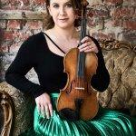 Chloe Hanslip - masterclass at Queenswood School