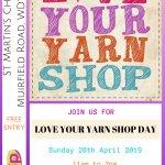 CLP Love Your Yarn Shop Day 2019