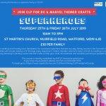 DC & Marvel Superheroes Workshop
