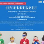 DC & Marvel Superheroes Family Workshops