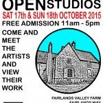 Fairlands Valley Farmhouse - Open Studios - October 2015