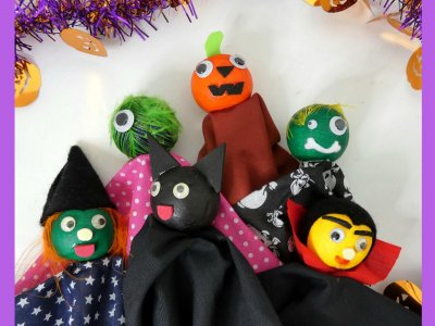Halloween Puppets 11am-12noon