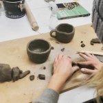 Handmade ceramic pottery with Elizabeth Cahill- Evening
