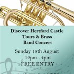 Hertford Castle Tours and Brass Band Concert
