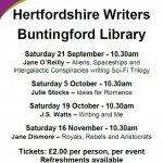 Hertfordshire Writers Series of Talks - Jane Dismore