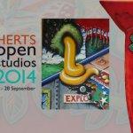 Herts Open Studios 2014: Neil Snazell at Trestle Arts Base