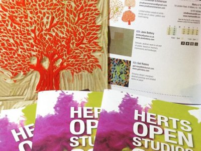 Herts Open Studios at Marks and Tilt Gallery, St Albans