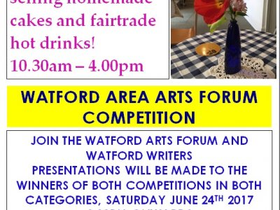 Little Gallery Tearoom & Watford Area Arts Forum Prize Giving