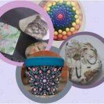 Mandalas dot painting  and Decoupage for beginners