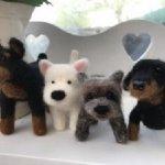 Needle Felting - Dogs