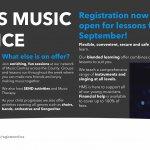Register for music lessons