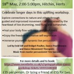 SpringSpiration - creative dance and live music workshop