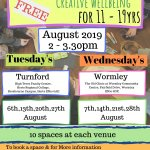 Summer Art & Wellbeing Workshops