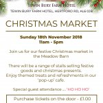 Tewinbury Farm Hotel Christmas Market