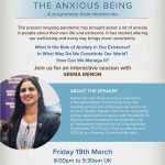 The Anxious Being - An Interactive Talk by Seema Menon