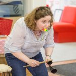 World Percussion Workshop for families at Benslow Music