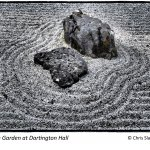 Zen Garden at Dartington Hall