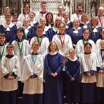 Choir at St Albans Cathedral January 2020