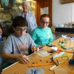 Craft activities at Royston Museum