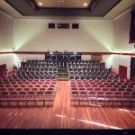 Eric Morecambe Hall from the stage