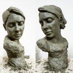 My first portrait sculpture