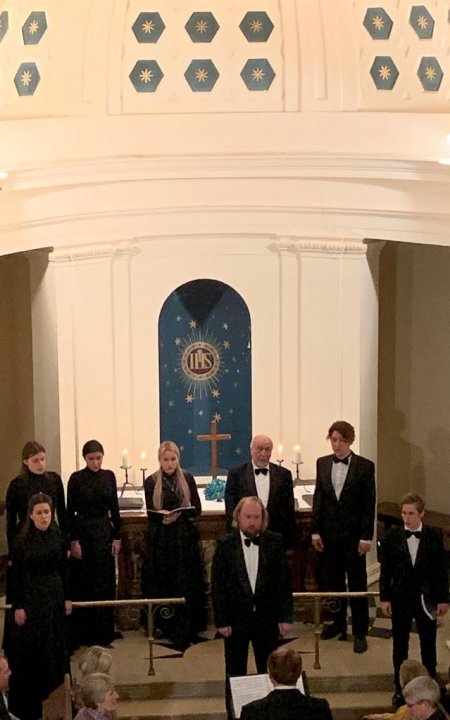 Our Russian Choir in November 2019