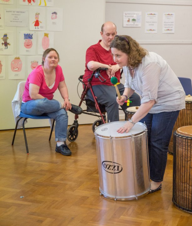 Samba workshop with Harpenden Gateway Club