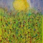 Sun over Flowers