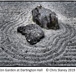 Zen Garden.  Dartington Hall