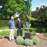 Open Air Sculpture Exhibition - first piece arrives