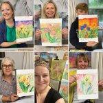 Watercolour Tulips Workshops