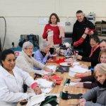 Xmas stocking workshop for Grandparents