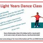Belinda Nuttall / Light Years Adult Dance Class