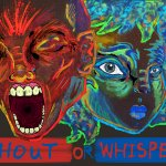 Shout or Whisper / Thomas Irvine