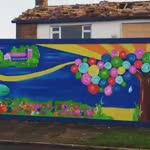 Cottonmill Community Mural - St Albans