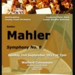 Mahler Symphony no.6 - Hertfordshire County Youth Orchestra