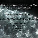 Reflections on the Cosmic Web - Work in Progress by Jill Woods