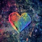 World Needs Love - Message of Love Art project