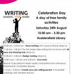 Writing: Making Your Mark - A Celebration day
