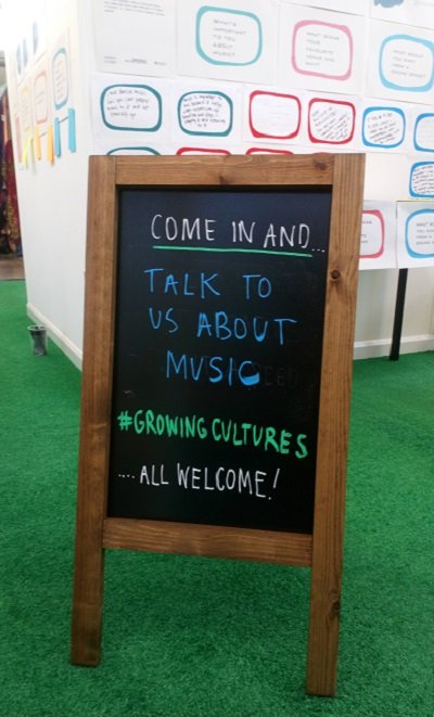 Come in and Talk about Music