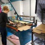 Screen Printing in the Studio